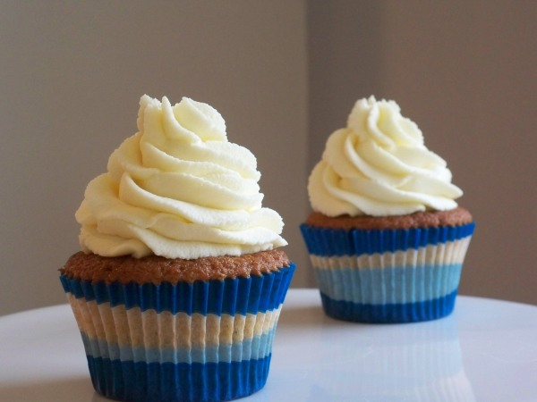 Browned Butter Cupcake Duo