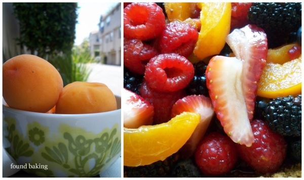 apricots and berries