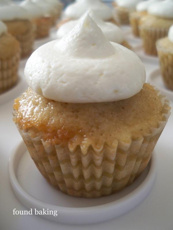 Apple Spice Cupcake