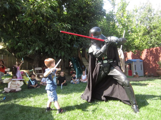 Darth Vader vs. Logan