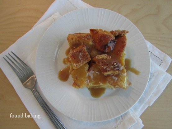 Classic Bread Pudding with Bourbon-Brown Sugar Sauce