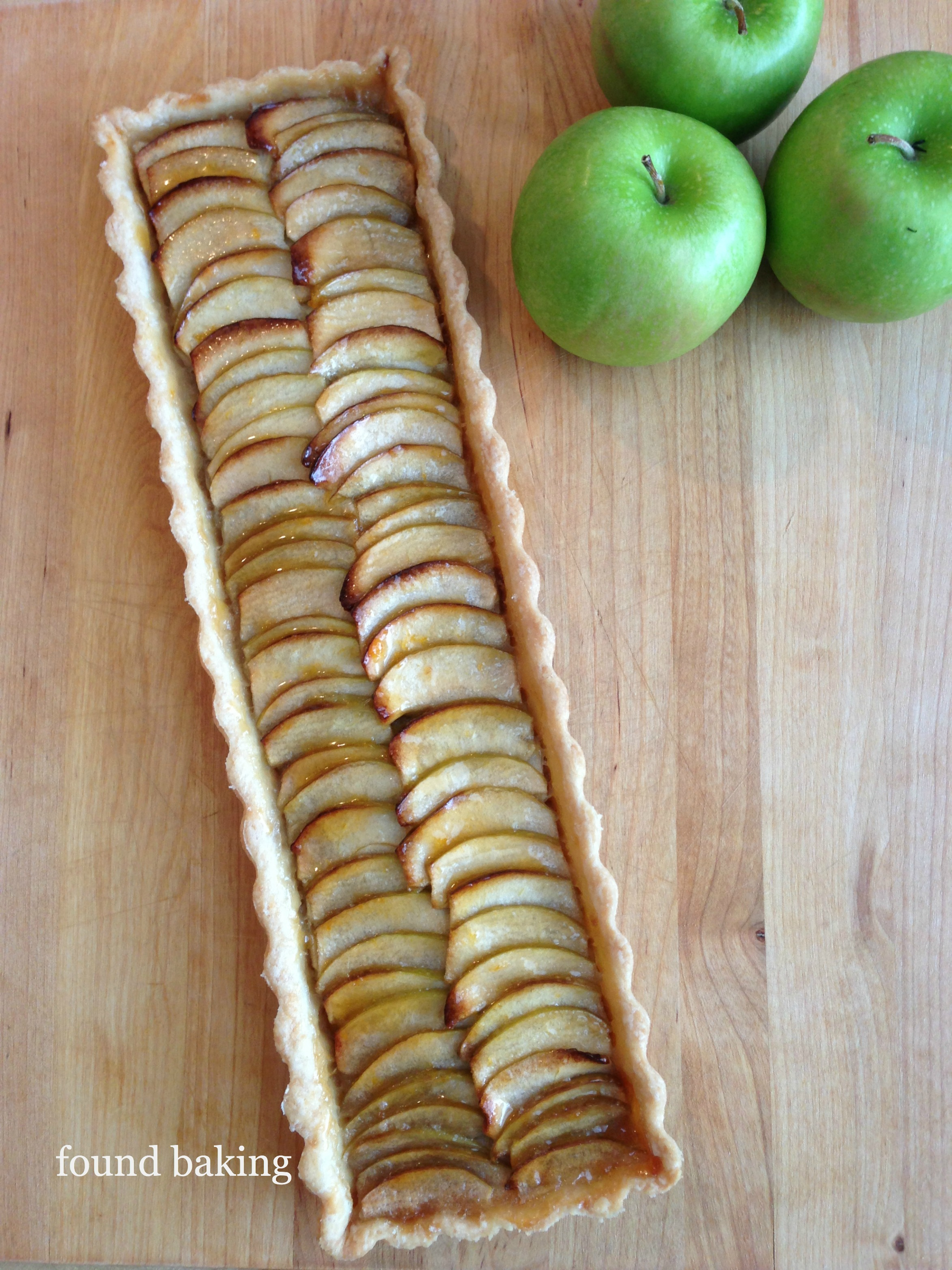 Roasted Apple Tart
